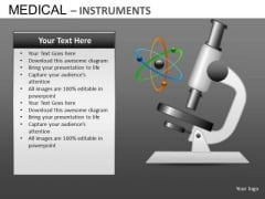 Microscope Research Medical PowerPoint Templates