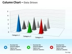 Microsoft Excel Data Analysis 3d Chart For Business Observation PowerPoint Templates