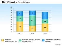 Microsoft Excel Data Analysis Bar Chart To Handle PowerPoint Templates