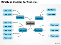 Mind Map Diagram For Statistics Ppt Real Estate Investing Business Plan PowerPoint Slides