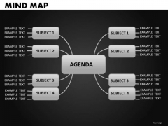 Mind Map Diagram PowerPoint Templates Editable Ppt Slides