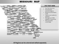 Missouri PowerPoint Maps