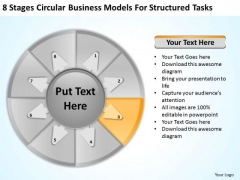 Models For Structured Tasks Sample Mission Statements Business Plan PowerPoint Templates