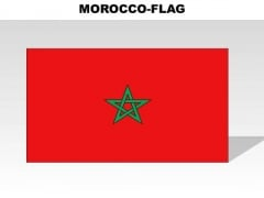 Morocco Country PowerPoint Flags