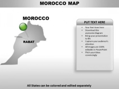 Morocco Country PowerPoint Maps