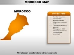 Morocco PowerPoint Maps