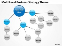 Multi Level Business Concepts Theme Ppt Plans Template PowerPoint Slides