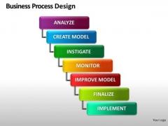 Multi Process Diagram PowerPoint Slides Ppt Templates