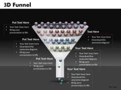 Multi Stage Funnel Shape PowerPoint Slides And Ppt Templates
