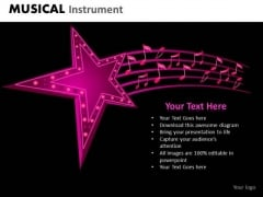Musical Stars Performers PowerPoint Templates Editable Ppt Slides