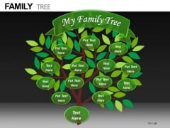 My Family Tree PowerPoint Slides