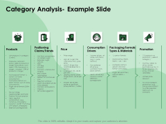 NPD Analysis Category Analysis Example Slide Ppt Gallery Guide PDF