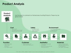 NPD Analysis Product Analysis Ppt Outline Visuals PDF