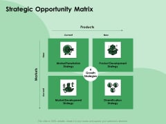 NPD Analysis Strategic Opportunity Matrix Ppt Styles Graphic Images PDF