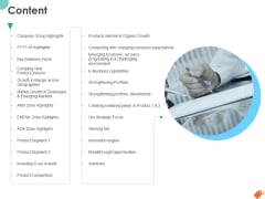 National Sales Conference Content Ppt PowerPoint Presentation Summary Show PDF