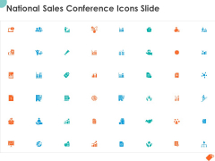 National Sales Conference Icons Slide Ppt PowerPoint Presentation Infographics Slides PDF