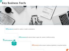 National Sales Conference Key Business Facts Ppt PowerPoint Presentation Portfolio Outline PDF