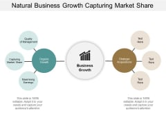 Natural Business Growth Capturing Market Shar Ppt Powerpoint Presentation Summary Layout Ideas