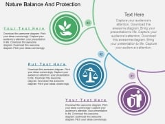 Nature Balance And Protection Powerpoint Templates
