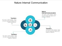 Nature Internal Communication Ppt PowerPoint Presentation Visual Aids Ideas Cpb