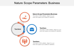 Nature Scope Parameters Business Ppt PowerPoint Presentation Professional Slide Portrait Cpb