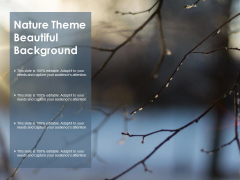 Nature Theme Beautiful Background Ppt PowerPoint Presentation Infographic Template Graphics
