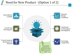 Need For New Product Template 1 Ppt PowerPoint Presentation Inspiration Model