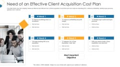 Need Of An Effective Client Acquisition Cost Plan Professional PDF