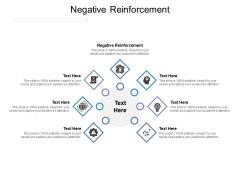 Negative Reinforcement Ppt PowerPoint Presentation Diagram Graph Charts Cpb Pdf
