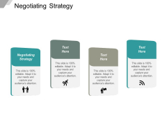 Negotiating Strategy Ppt PowerPoint Presentation Styles Templates Cpb