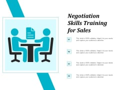 Negotiation Skills Training For Sales Ppt Powerpoint Presentation Icon Background Images