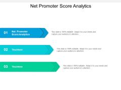 Net Promoter Score Analytics Ppt PowerPoint Presentation Gallery Background Cpb