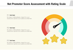 Net Promoter Score Assessment With Rating Scale Ppt PowerPoint Presentation Gallery Rules PDF