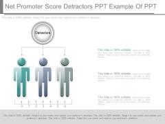 Net Promoter Score Detractors Ppt Example Of Ppt