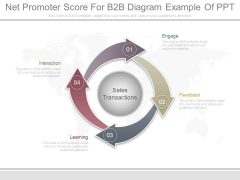 Net Promoter Score For B2B Diagram Example Of Ppt