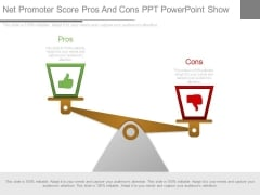 Net Promoter Score Pros And Cons Ppt Powerpoint Show