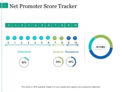 Net Promoter Score Tracker Ppt PowerPoint Presentation Icon Sample