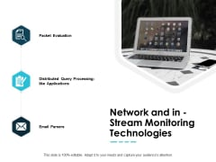 Network And In Stream Monitoring Technologies Ppt PowerPoint Presentation Summary Graphics Tutorials