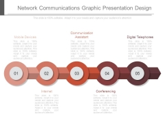 Network Communications Graphic Presentation Design