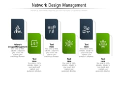 Network Design Management Ppt PowerPoint Presentation Icon Examples Cpb Pdf