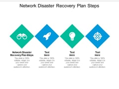 Network Disaster Recovery Plan Steps Ppt PowerPoint Presentation Styles Templates