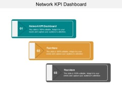 Network KPI Dashboard Ppt PowerPoint Presentation Summary Design Ideas Cpb