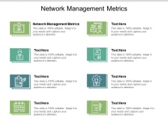 Network Management Metrics Ppt PowerPoint Presentation File Background Cpb
