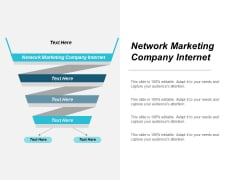 Network Marketing Company Internet Ppt Powerpoint Presentation Outline Graphics Cpb