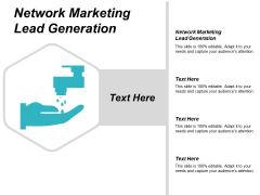 Network Marketing Lead Generation Ppt PowerPoint Presentation Styles Example Introduction Cpb