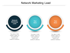 Network Marketing Lead Ppt PowerPoint Presentation Infographic Template Information Cpb