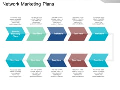 Network Marketing Plans Ppt PowerPoint Presentation Visual Aids Example File