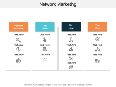 Network Marketing Ppt Powerpoint Presentation File Background Cpb