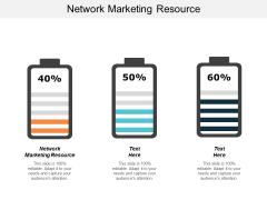 Network Marketing Resource Ppt PowerPoint Presentation Portfolio Good Cpb