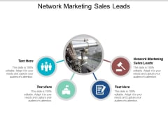 Network Marketing Sales Leads Ppt Powerpoint Presentation Layouts Sample Cpb